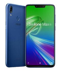 【中古】【安心保証】 SIMフリー ZenFone Max[32G] アオ