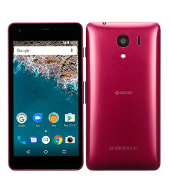 【中古】【安心保証】 Y!mobile Android One S2 レッド