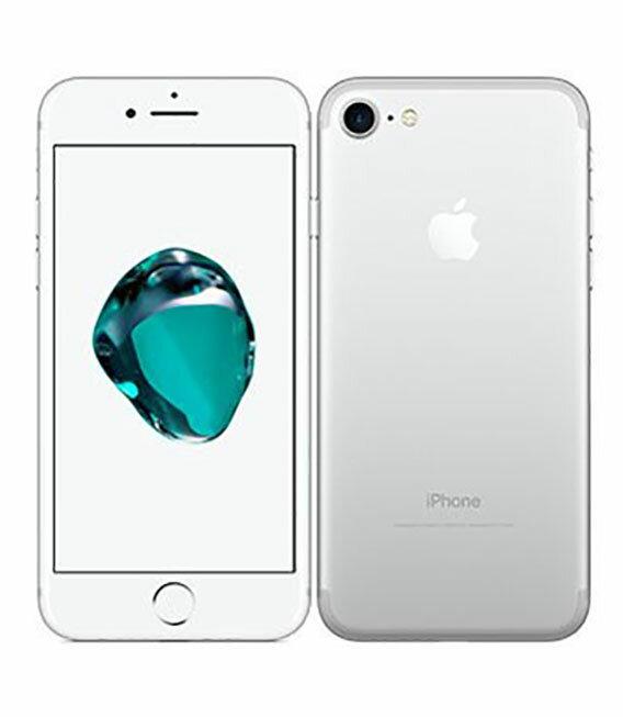 【中古】【安心保証】 docomo iPhone7[256G] シルバー
