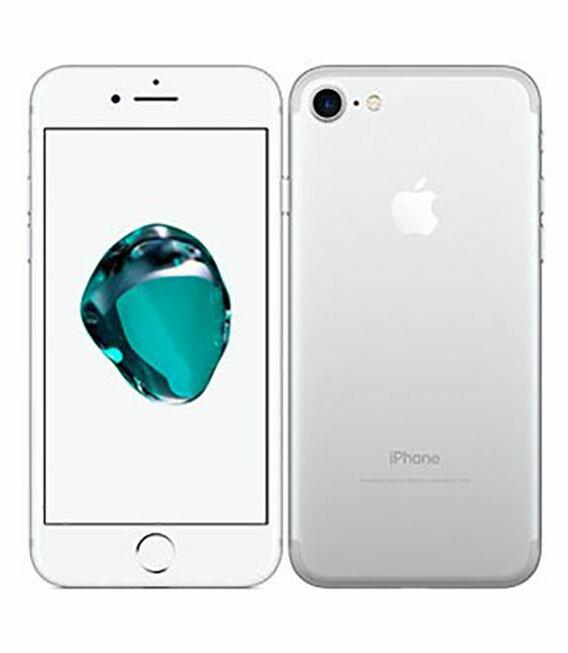 【中古】【安心保証】 SoftBank iPhone7[256GB] シルバー