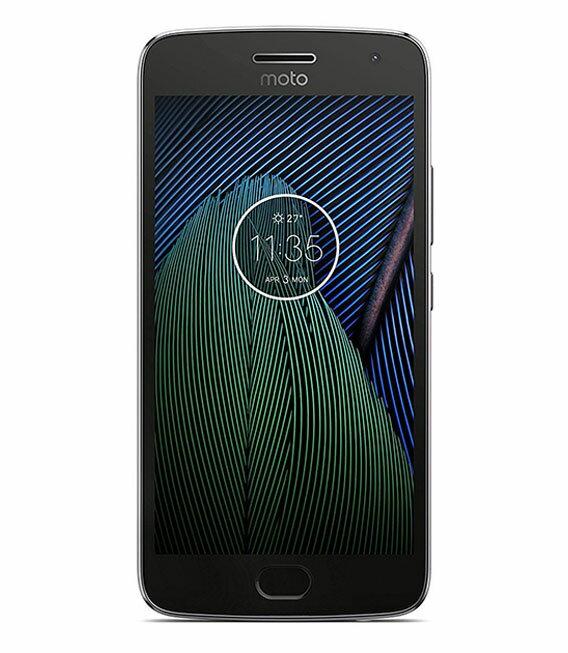 【中古】【安心保証】 SIMフリー MotoG5Plus[32GB] ルナグレー