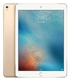 【中古】【安心保証】 SoftBank iPad-9.7_5[セルラー128G] ゴールド
