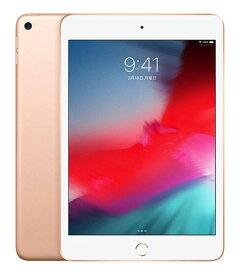 【中古】【安心保証】 iPadmini5 7.9インチ[256GB] SIMフリー ゴールド