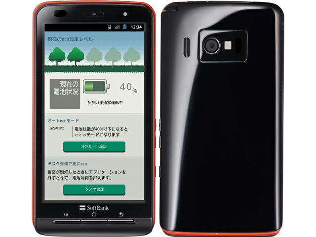 【中古】【安心保証】 SoftBank 003P ブラック