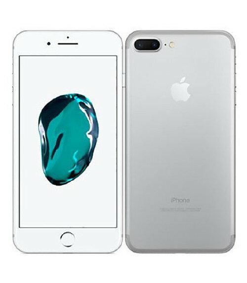 【中古】【安心保証】 SoftBank iPhone7Plus[32GB] シルバー