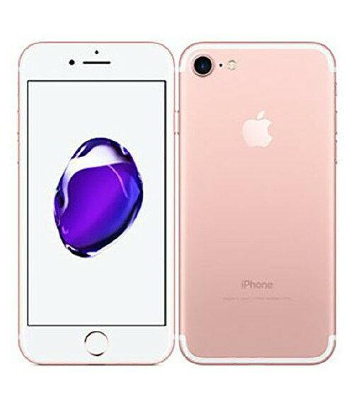 【中古】【安心保証】 docomo iPhone7[128GB] ローズゴールド
