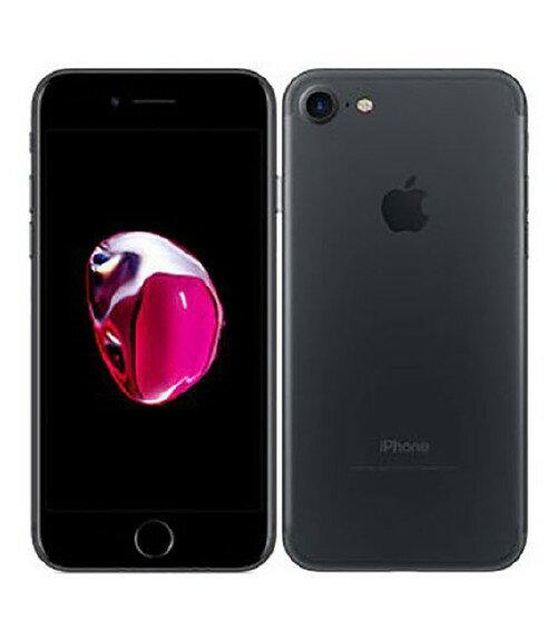 【中古】【安心保証】 SoftBank iPhone7[256GB] ブラック