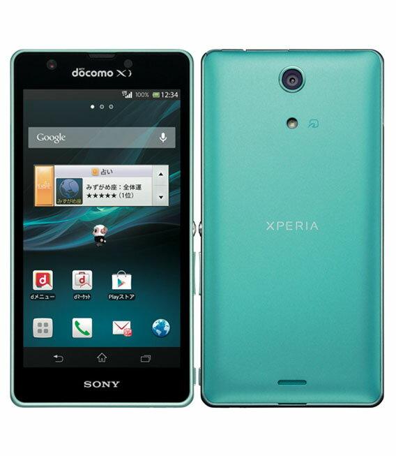 【中古】【安心保証】 docomo Mobile Xperia A SO-04E