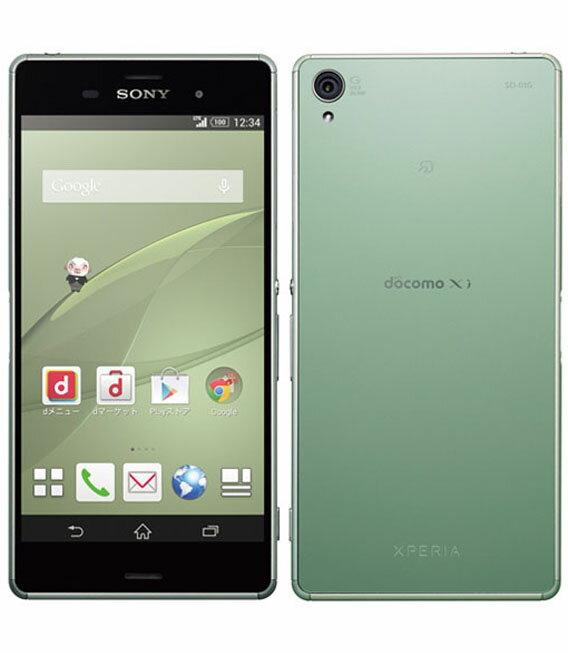 【期間限定!ポイント5倍!】【中古】 docomo Mobile Xperia Z3 SO-01G