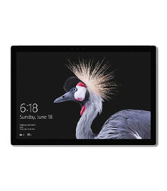 【中古】【安心保証】 Surface Pro 2017[256Gオフィス有] シルバー