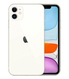 【中古】【安心保証】 au iPhone11[128G] ホワイト
