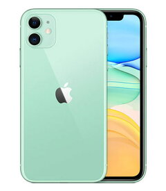【中古】【安心保証】 iPhone11[128GB] SoftBank MWM62J グリーン