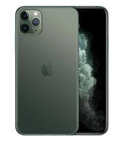 【中古】【安心保証】 docomo iPhone11 Pro Max[64G] グリーン SIMロック解除済