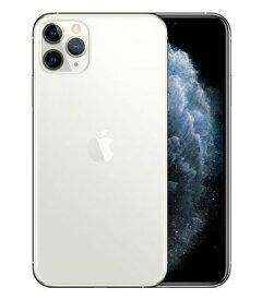 【中古】【安心保証】 iPhone11 Pro Max[256GB] docomo NWHK2J シルバー