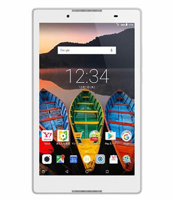 【中古】【安心保証】 Y!mobile Lenovo_TAB_3_602LV ポラールホワイト