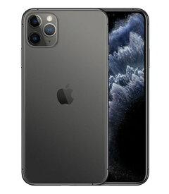 【中古】【安心保証】 SoftBank iPhone11 Pro Max[512G] グレイ