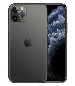 【中古】【安心保証】 SoftBank iPhone11 Pro[64G] スペースグレイ