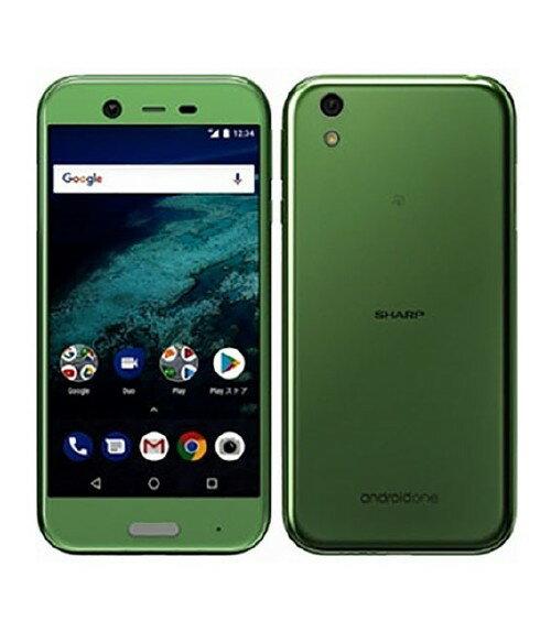 【中古】【安心保証】 Y!mobile AndroidOne_X1 ミントグリーン