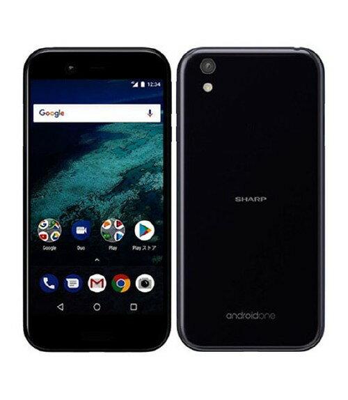 【中古】【安心保証】 Y!mobile AndroidOne_X1 ダークパープル