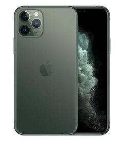 【中古】【安心保証】 docomo iPhone11 Pro[64G] グリーン