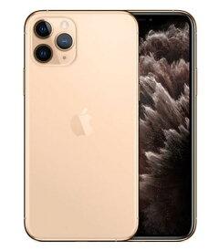 【中古】【安心保証】 docomo iPhone11 Pro[256G] ゴールド