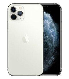 【中古】【安心保証】 SoftBank iPhone11 Pro[256G] シルバー