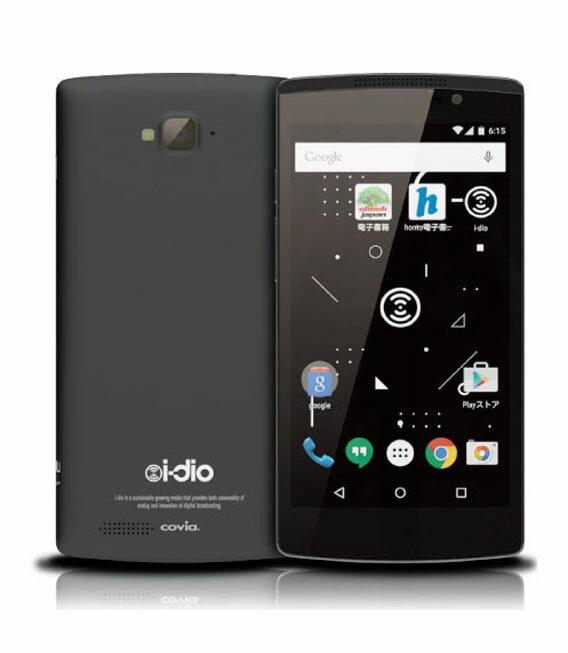 【中古】【安心保証】 SIMフリー i-dioPhone ブラック