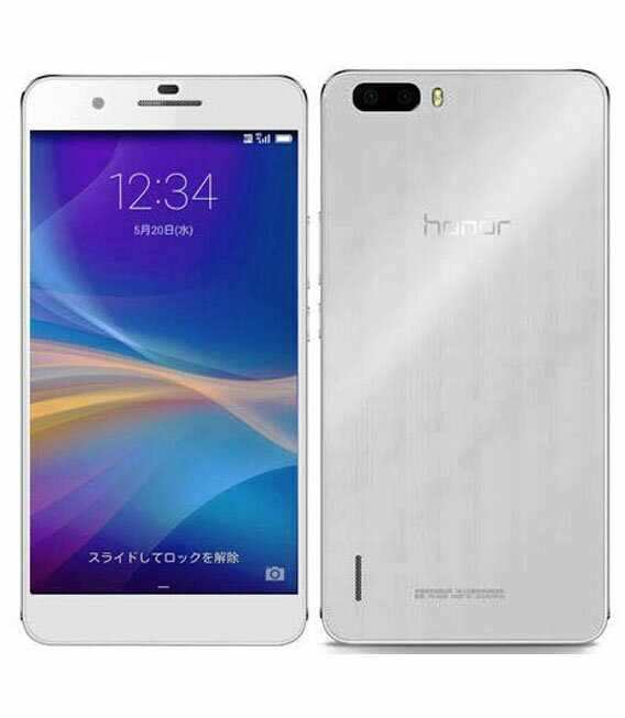 【中古】【安心保証】 SIMフリー honor6Plus ホワイト