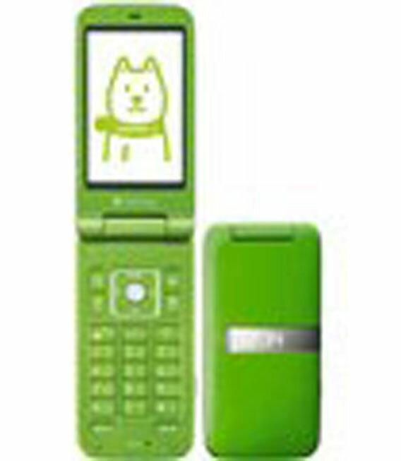 【中古】【安心保証】 SoftBank 001SH グリーン