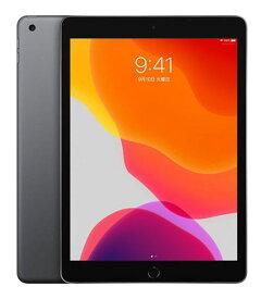 【中古】【安心保証】 iPad-10.2_7[WiFi128G] グレイ