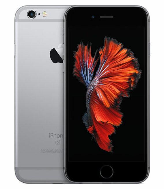 【中古】【安心保証】SoftBank iPhone6s[128G] スペースグレイ