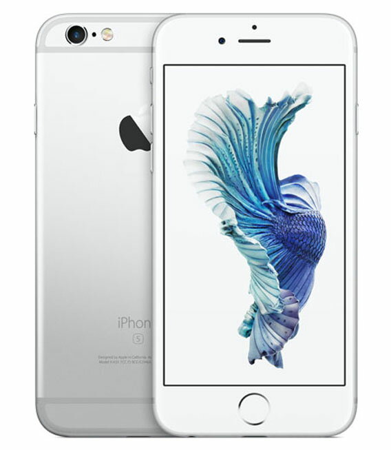 【中古】【安心保証】SoftBank iPhone6s[128G] シルバー