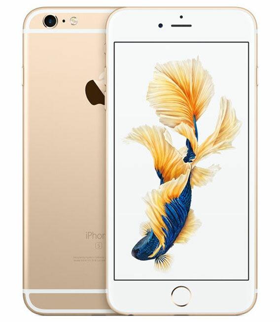 【中古】【安心保証】SoftBank iPhone6sPlus[16G] ゴールド