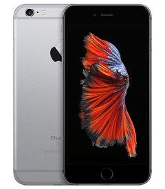 【中古】【安心保証】 SoftBank iPhone6sPlus[128G] スペースグレイ