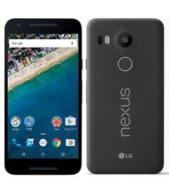 【中古】【安心保証】 Y!mobile Nexus5X[32G] カーボン