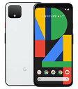 【中古】【安心保証】 SoftBank Pixel 4[128G] クリアリーホワイト