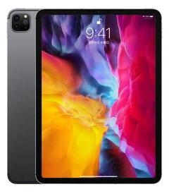 【中古】【安心保証】 SoftBank iPadPro-11_2[セルラー256G] スペースグレイ