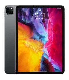 【中古】【安心保証】 au iPadPro-11_2[セルラー512G] スペースグレイ