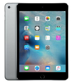【中古】【安心保証】 iPadmini-7.9_4[32G] グレイ