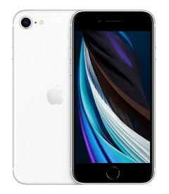 【中古】【安心保証】 SoftBank iPhoneSE 第2世代[64G] ホワイト