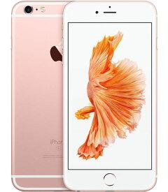 【19日20時-22日23時59分限定!全品ポイント10倍!!】au iPhone6sPlus 128GB ローズゴールド SIMロック解除済【中古】【安心保証】