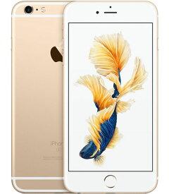 【中古】【安心保証】 au iPhone6sPlus[16G] ゴールド SIMロック解除済