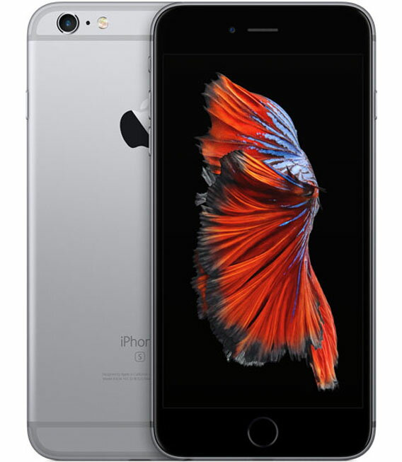 【中古】【安心保証】SoftBank iPhone6sPlus[128G] スペースグレイ