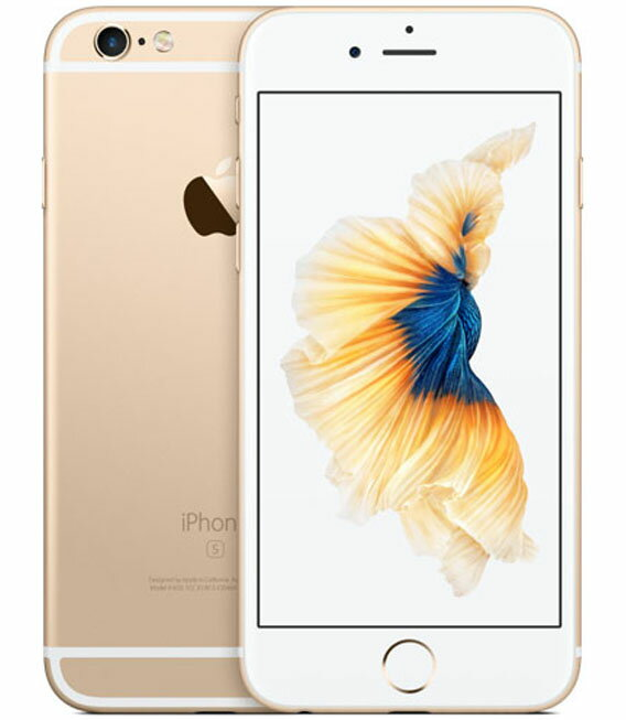 【中古】【安心保証】SoftBank iPhone6s[128G] ゴールド