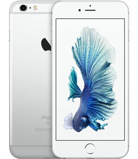 【中古】【安心保証】 SoftBank iPhone6sPlus[128G] シルバー