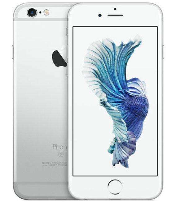 【中古】【安心保証】 au iPhone6s[16G] シルバー SIMロック解除済