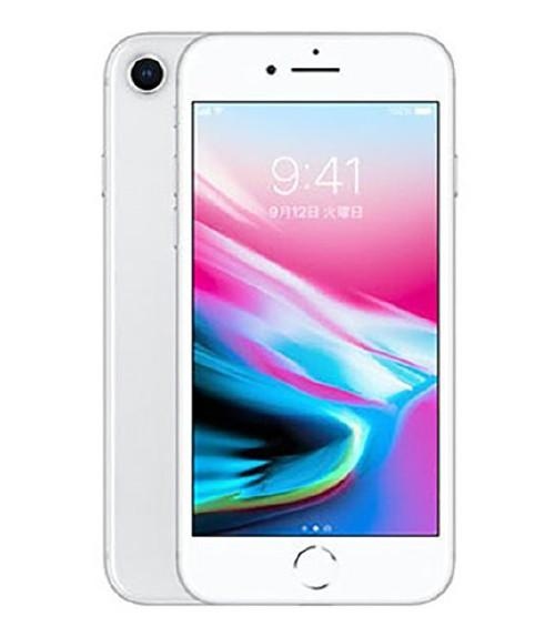 【中古】【安心保証】docomo iPhone8[256G] シルバー