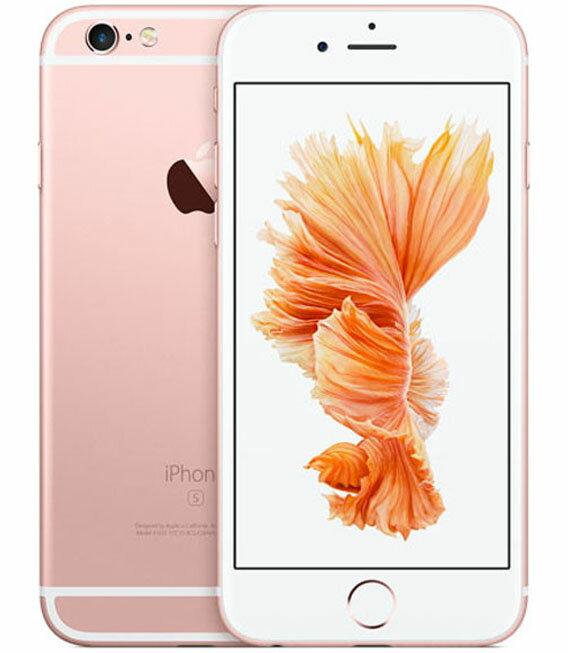 【中古】【安心保証】 SIMフリー iPhone6s[128G] ローズG
