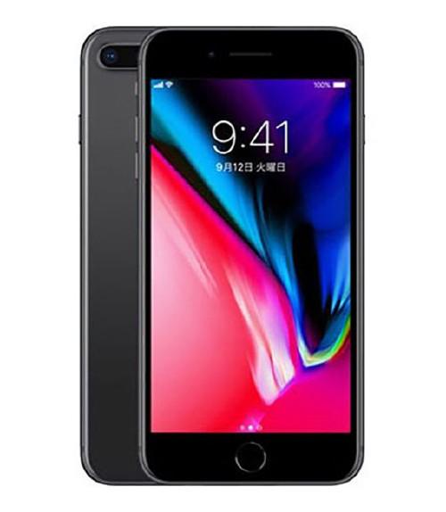 【中古】【安心保証】 au iPhone8Plus[256GB] スペースグレイ