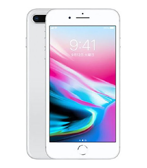 【中古】【安心保証】 SoftBank iPhone8Plus[256GB] シルバー